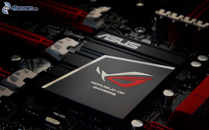 Asus, procesador, placa base