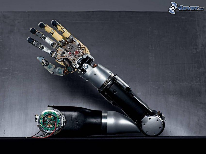 brazo mecánico