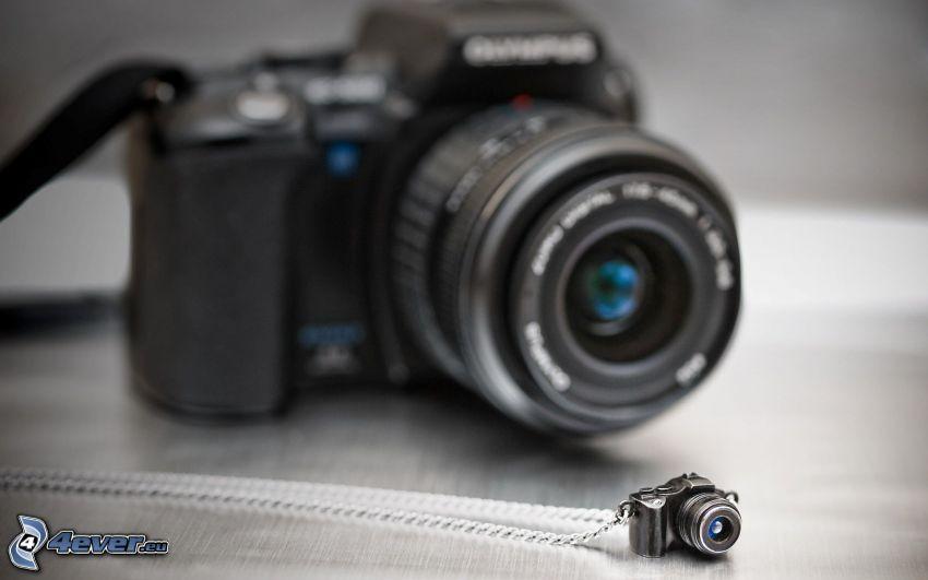 cámara, colgante