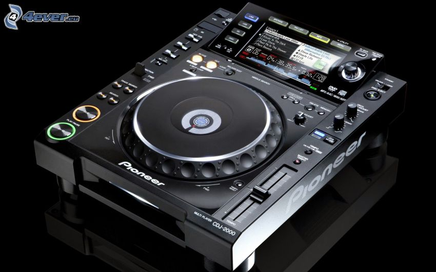 DJ consola