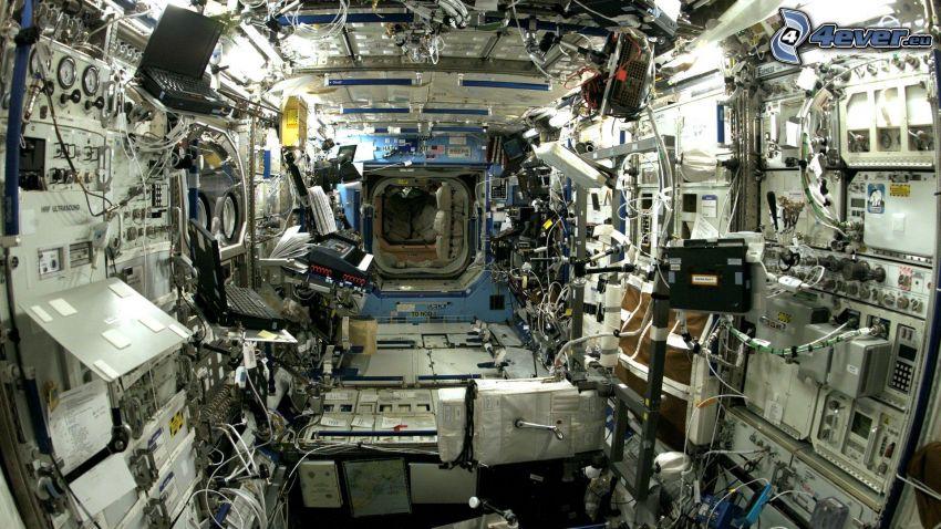 Estación Espacial Internacional, interior