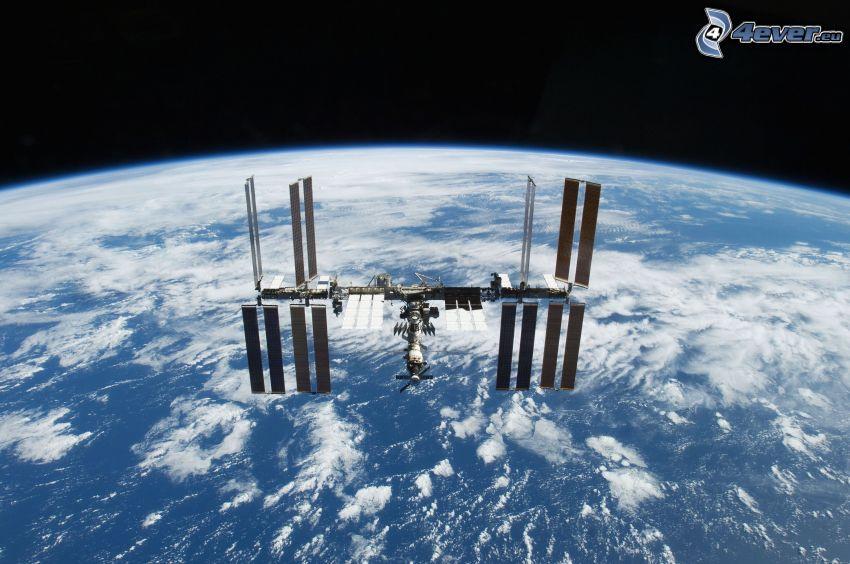 Estación Espacial Internacional ISS, Tierra