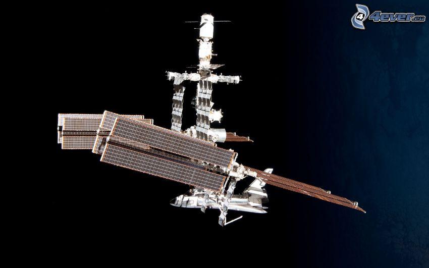 Estación Espacial Internacional ISS, transbordador espacial