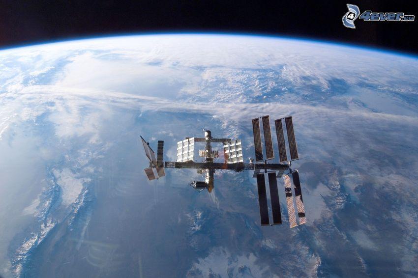 ISS sobre la Tierra