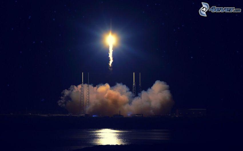 lanzamiento de astronave