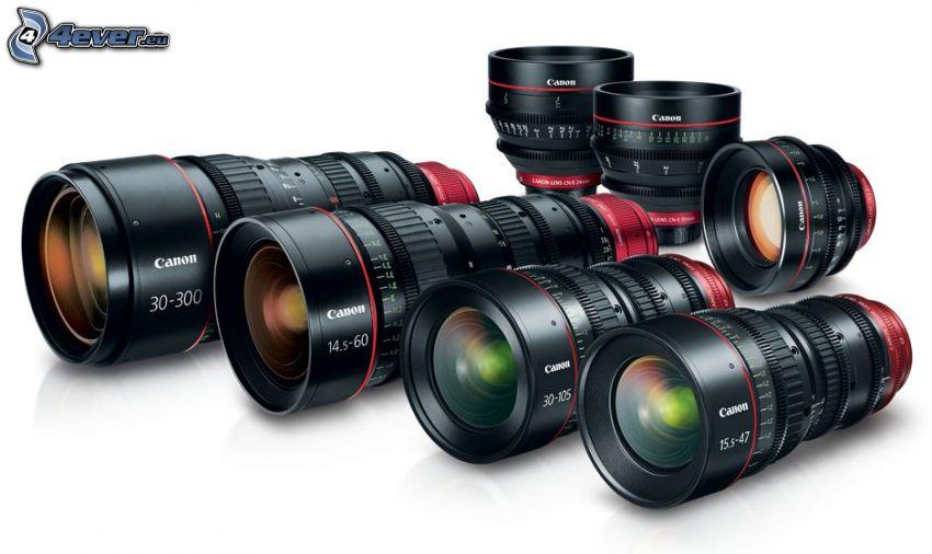 lentes, Canon