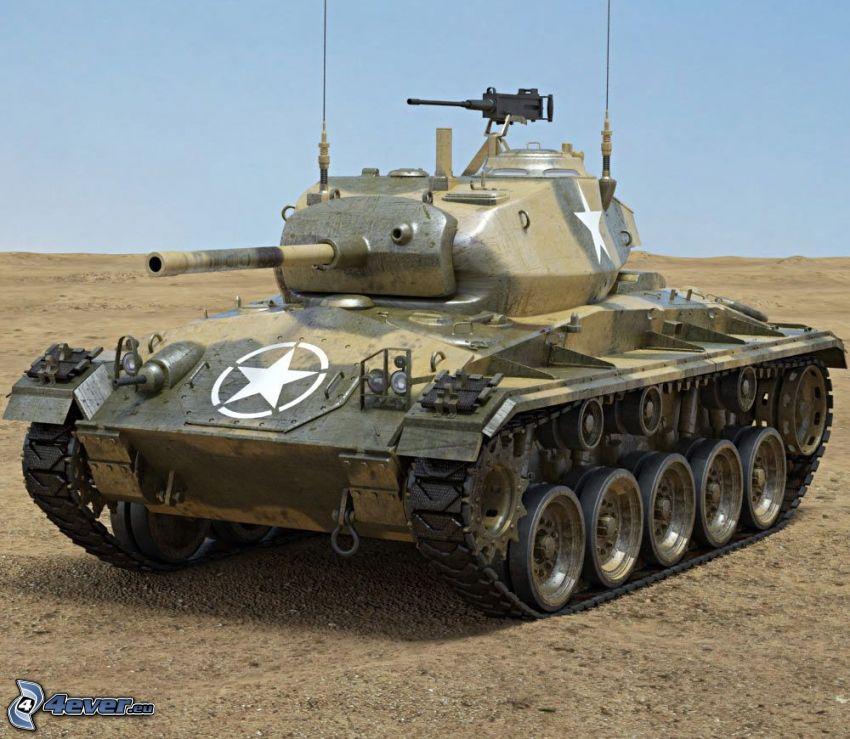 M18 Hellcat, tanque