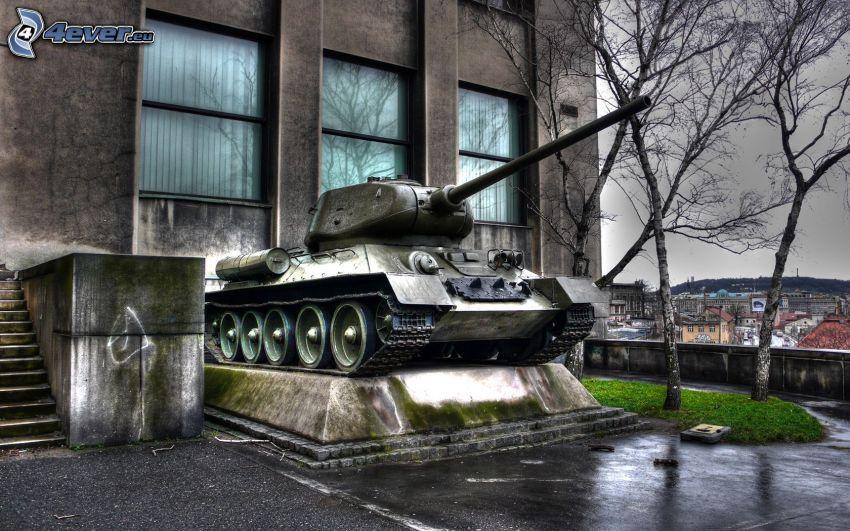 T-34, tanque, exposición, museo