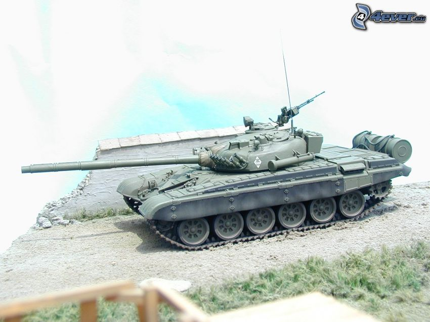 T-72, tanque