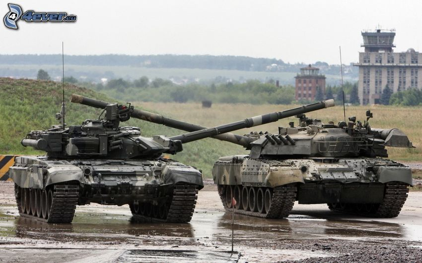 tanques, T-90, T-80