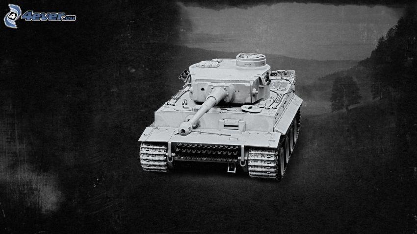 Tiger, tanque, La Segunda Guerra Mundial