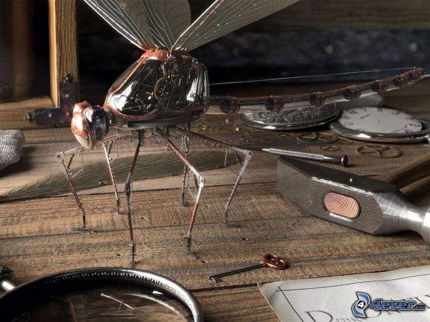 mosca mecánica