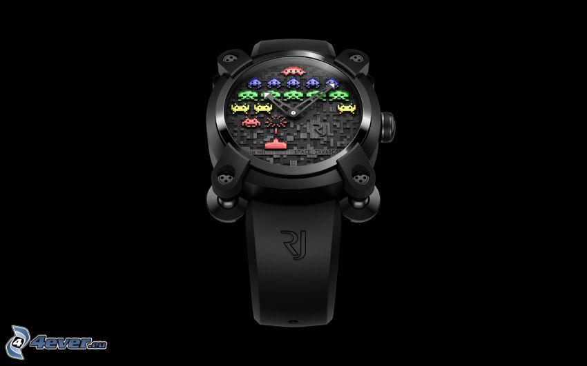 reloj, Pacman