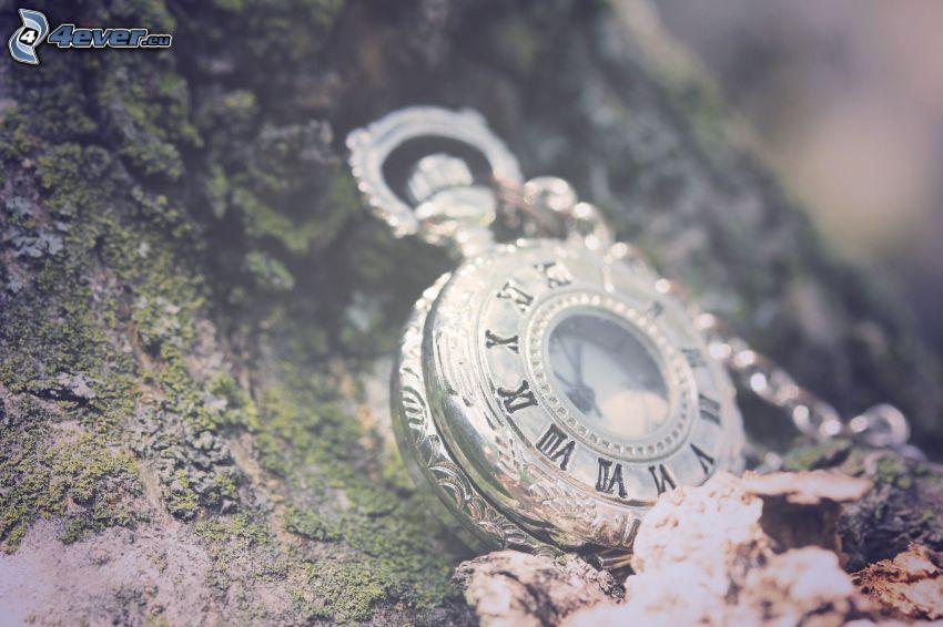 reloj histórico, collar