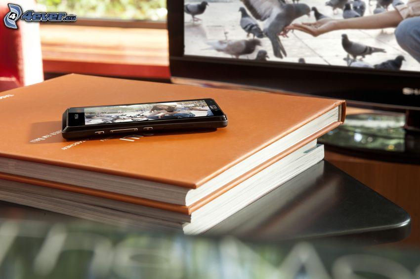 Sony Ericsson, teléfono móvil, libros