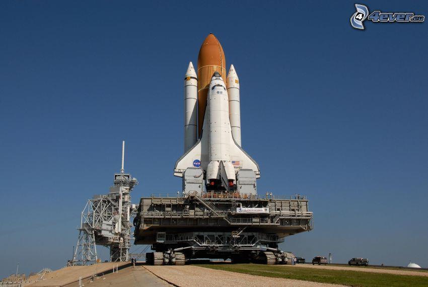 transbordador espacial, rampa de lanzamiento