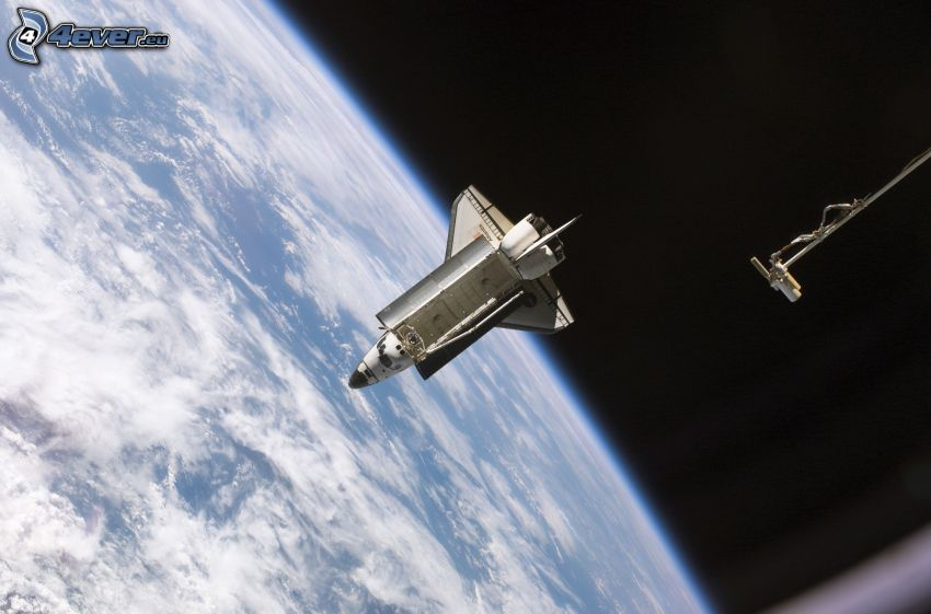 transbordador espacial, Tierra