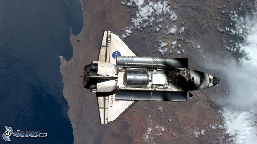 transbordador espacial Discovery, Tierra