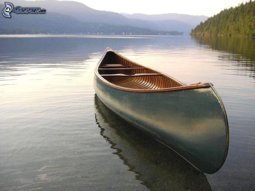 canoa, río