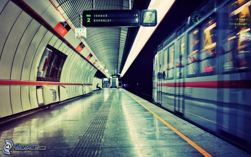 estación de metro, metro