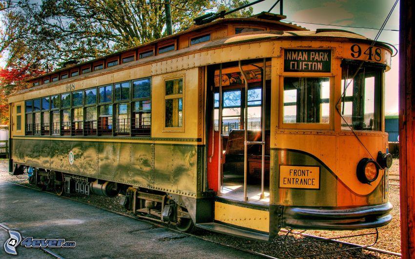 tranvía antigua