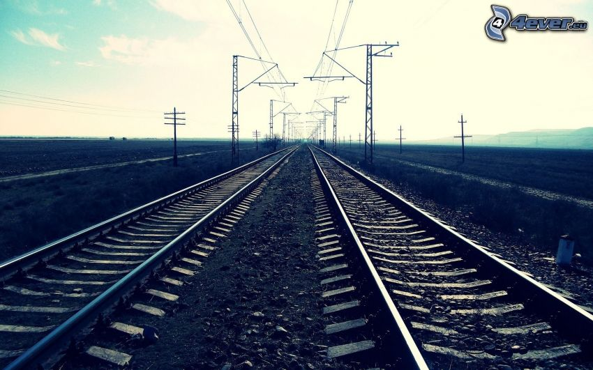 carril, ferrocarril