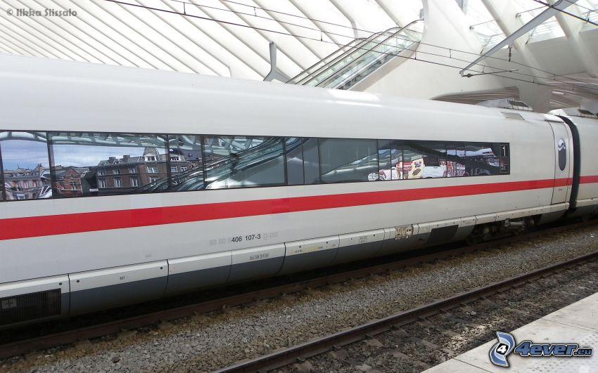 ICE 3, vagón, trenes de alta velocidad