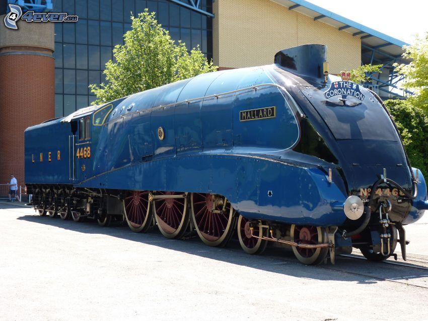 Mallard, locomotora de vapor, museo
