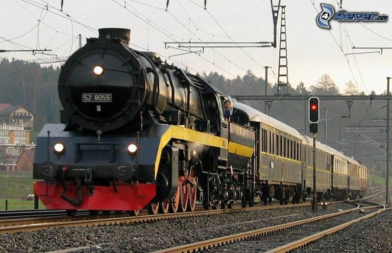 Orient Express, tren de vapor, carril