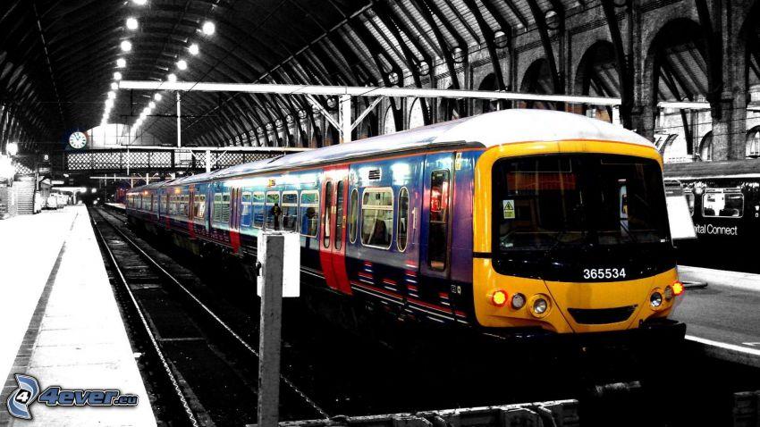 tren, La estación de tren