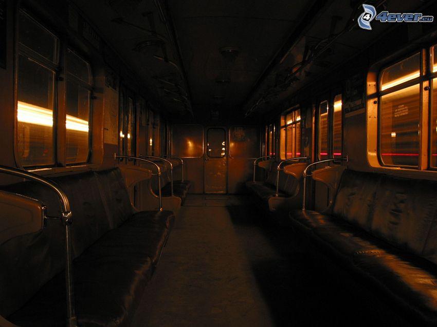vagón, metro
