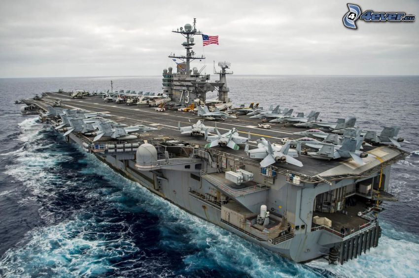 USS George Washington, portaaviones, Alta Mar