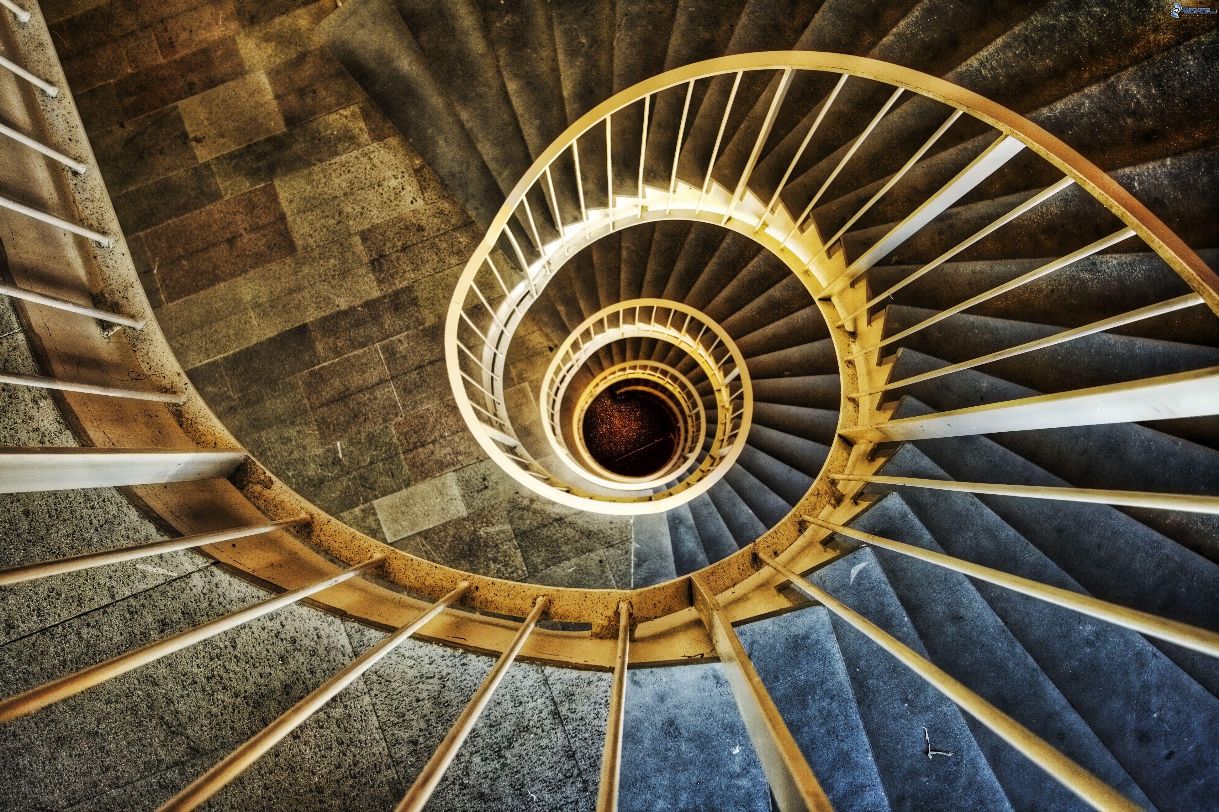 Escalera Espiral Escalera Espiral Interior Ideas De Diseo De - Escaleras-en-espiral
