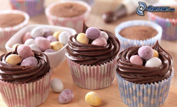 cupcakes, bonbons
