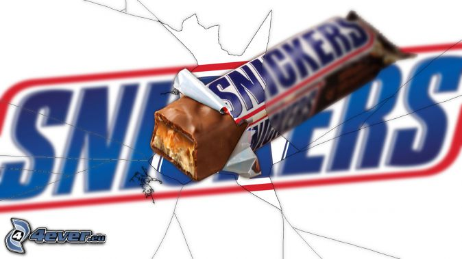 Snickers, crevasse