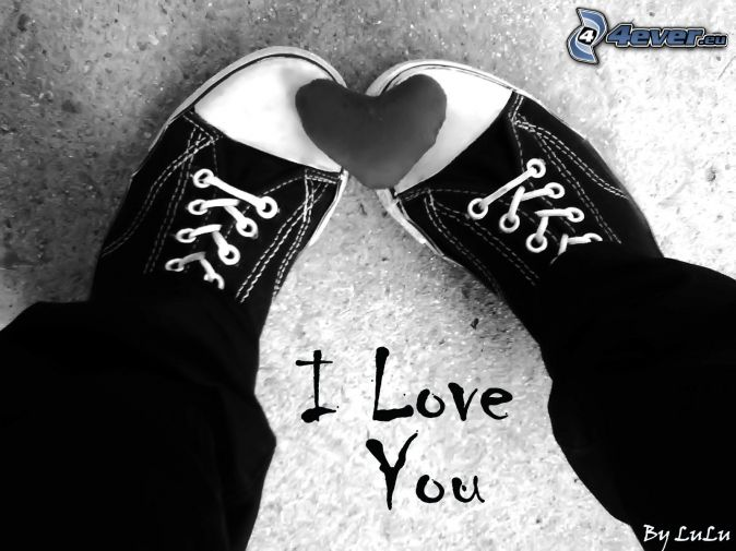 i-love-you,-coeur,-jambes,-tennis-noire-146475