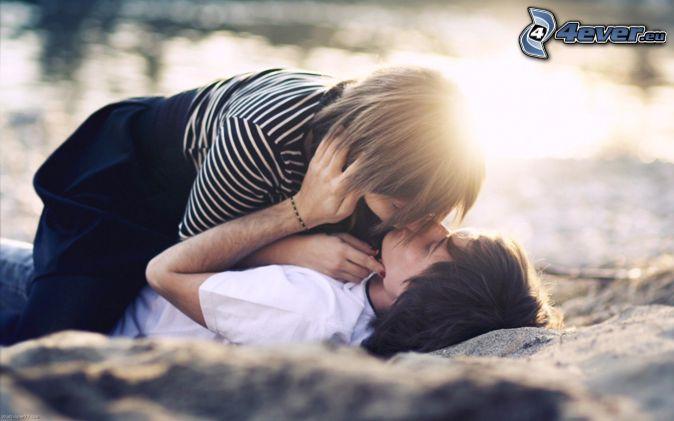 couple, bouche