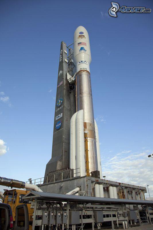 Atlas V, raquette