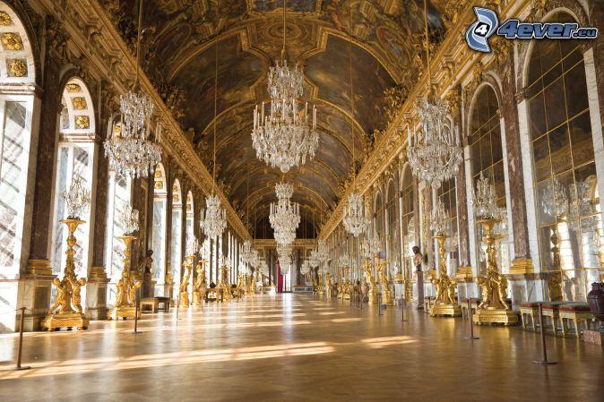 Couloir for Chateau de versailles interieur