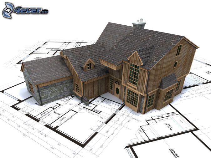 Maison en bois for Maison miniature en bois