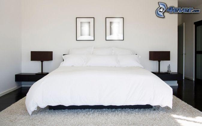 chambre à coucher , grand lit , images