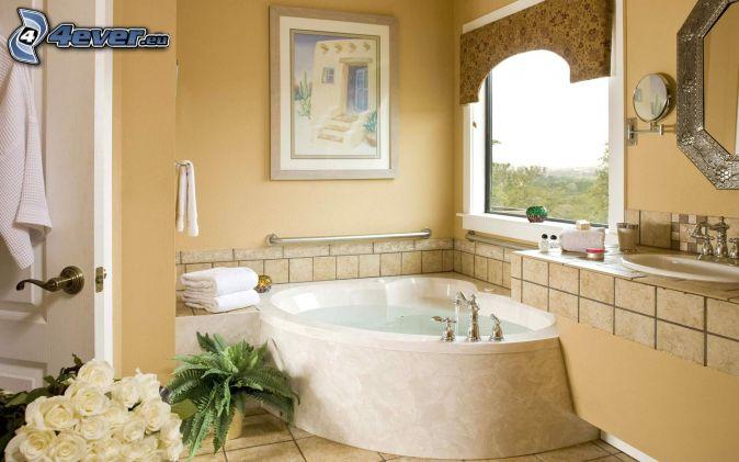 Fenetre Salle De Bain Depoli : salle de bains , bain , image ...