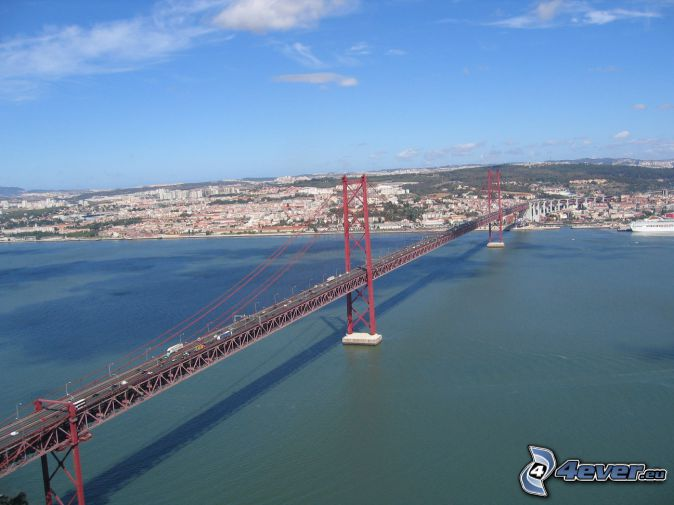 25 de Abril Bridge, Lisbonne