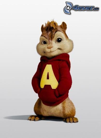 Alvin et les chipmunks - Coloriage alvin et les chipmunks 4 ...