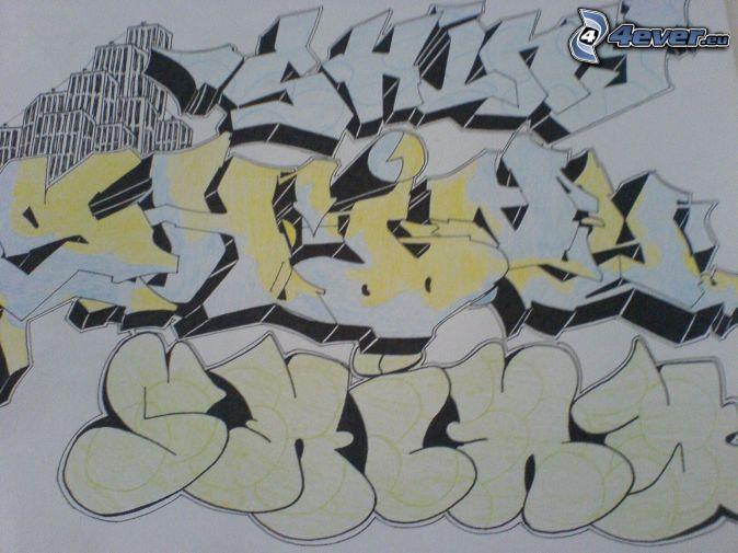 Graffiti - Lettre graffiti modele ...