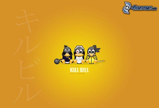 Kill Bill, pingouins