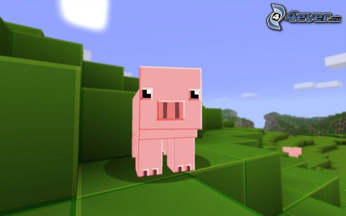 Minecraft - Minecraft cochon ...