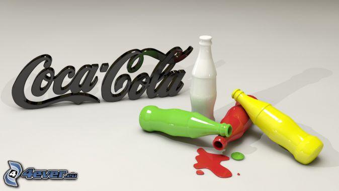 Coca Cola, bouteilles