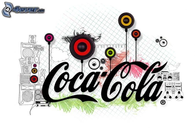 Coca Cola, haut-parleurs