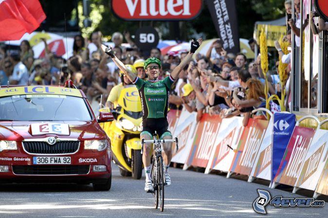 vainqueur , cycliste , Tour De France